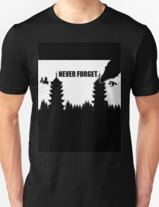 Never Forget-Burned Tower T-Shirt
