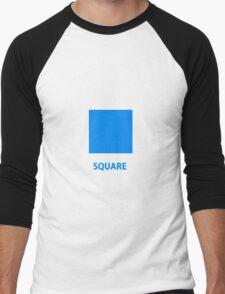 Square  Men's Baseball ¾ T-Shirt