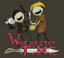 Winchester Time with Sam and Dean tshirt by AmberStone