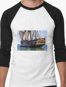 HMS Bounty Tall Ship Men's Baseball ¾ T-Shirt