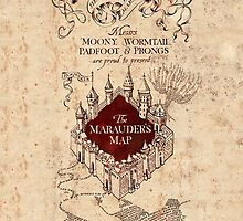 The Marauder's Map by bubblywums