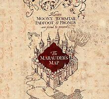 The Marauder's Map by Jen *