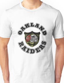 Oakland Raiders Collectors T-shirts and Stickers Unisex T-Shirt