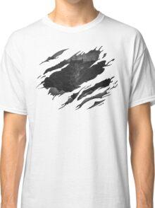Batman BvS Logo Ripped Classic T-Shirt