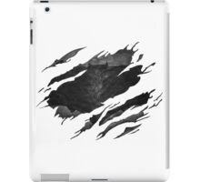 Batman BvS Logo Ripped iPad Case/Skin