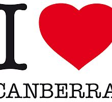 I ♥ CANBERRA by eyesblau