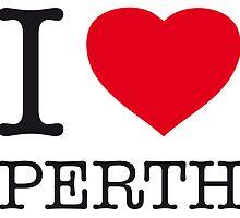 I ♥ PERTH by eyesblau
