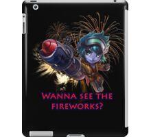 Tristana fireworks iPad Case/Skin