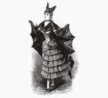 Victorian Bat Girl Costume by Pixelchicken