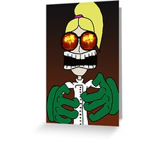 mad ison   scientist 2 Greeting Card