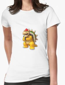 Bowser_Sticker Womens Fitted T-Shirt