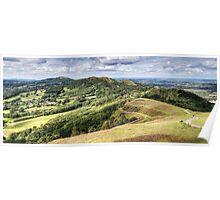Malvern Hills Poster