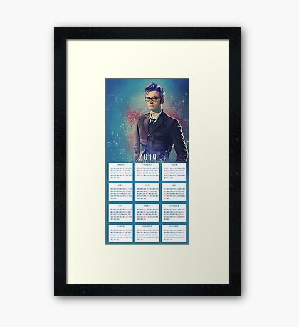 One Year With The DOCTOR! Framed Print