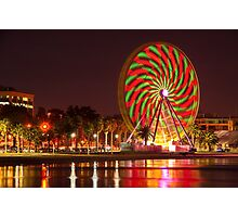 """""""Swirling In The Night"""" Photographic Print"""