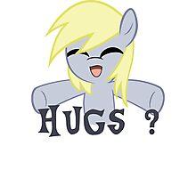 Derpy wants hugs Photographic Print