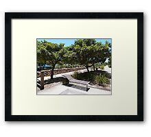 The Perfect Lounge Chair. Framed Print