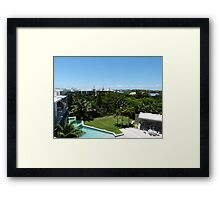 Three Trees Times Two! Framed Print
