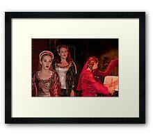 Ireland. Knappogue Castle Medieval Banquet. Performance. Framed Print