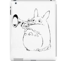Totoro Trumpeter iPad Case/Skin