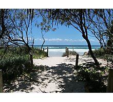 Beach Path to Paradise. Photographic Print