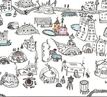 Beach House Brainstorming by SteveHanna