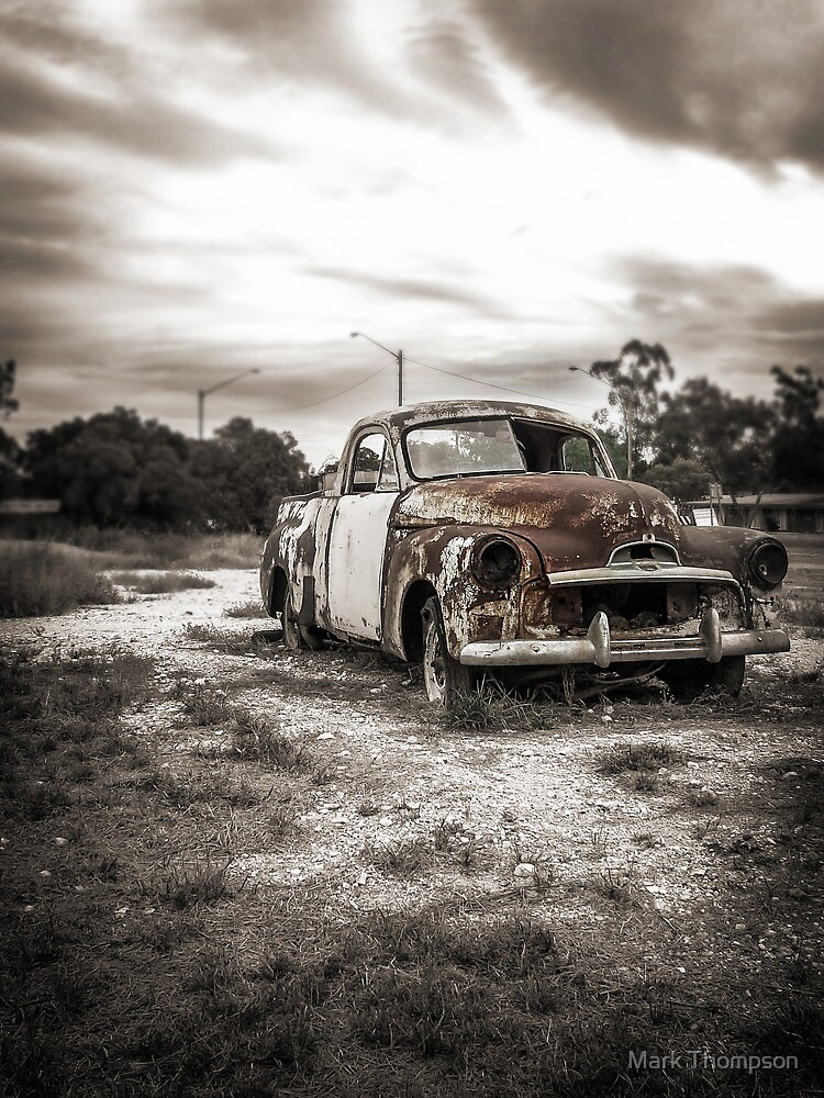 Rusted and Abandoned  by mark thompson
