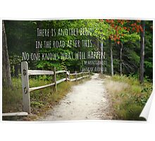 Anne Shirley Bend Road Poster