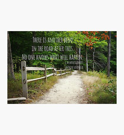 Anne Shirley Bend Road Photographic Print