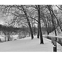 Snow in the Park Photographic Print