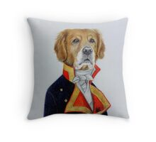 dog king Throw Pillow