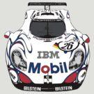 Porsche GT1 Front by supersnapper