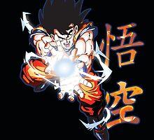 DBZ-Goku by Kaytwo
