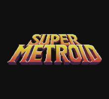 Super Metroid Logo Kids Clothes