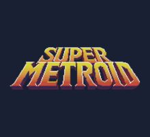 Super Metroid Logo by Sid Eagle