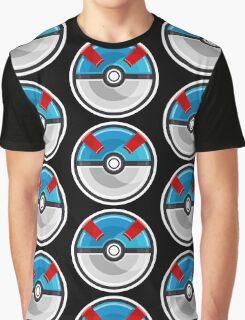 Pokemon Great Ball Graphic T-Shirt