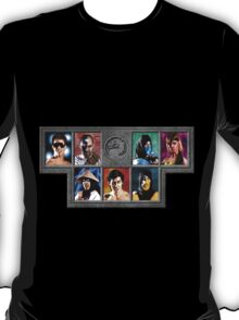 Mortal Kombat Character Select T-Shirt