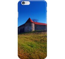 Pathway to Piberstein castle | architectural photography iPhone Case/Skin