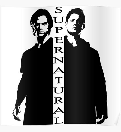Supernatural Winchester Brothers Poster
