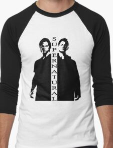 Supernatural Winchester Brothers Men's Baseball ¾ T-Shirt