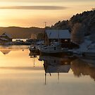 Coastal Winter - Sveio, Norway by Algot Kristoffer Peterson