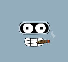 bender fumando by dibsterscown