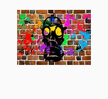 Gasmask on Wall Unisex T-Shirt