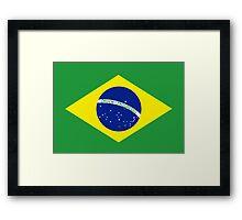 Flag of Brazil Framed Print