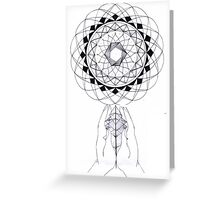 Geographical prayer Greeting Card