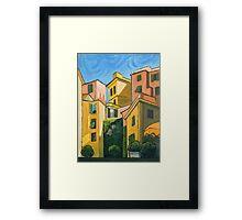 Cinque Terre Morning Framed Print
