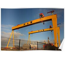 Samson And Goliath Poster