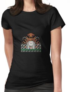 Contra Fight Womens Fitted T-Shirt