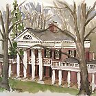 Academic Village University of Virginia by Robert Holewinski