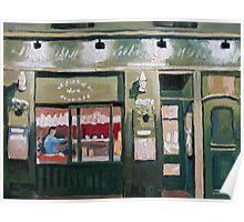 Latin Quarter Cafe Paris Poster