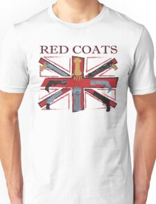 Join the Red Coats!!!! Unisex T-Shirt